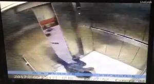 Της έκοψε το πόδι το ασανσέρ [vid]