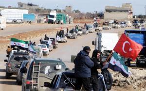 Αιματηρές επιθέσεις της Τουρκίας στο Αφρίν – Τουλάχιστον 18 νεκροί