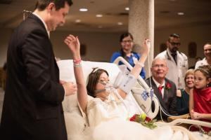 Οι τελευταίες στιγμές της Heather – Παντρεύτηκε τον έρωτα της ζωής της και πέθανε [pics]