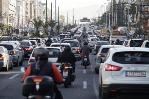 Κίνηση στους δρόμους: Κόλαση λόγω απεργίας στα Μέσα Μεταφοράς