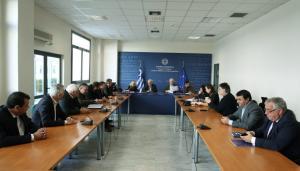 Συνάντηση Γαβρόγλου με 11 δημάρχους για το νέο πανεπιστήμιο Δυτικής Αττικής