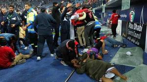 Παραλίγο τραγωδία στο Κουβέιτ – Κατέρρευσε κερκίδα γηπέδου [vid]