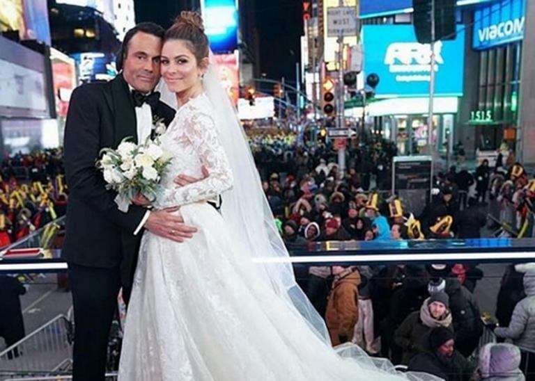 Μαρία Μενούνος: Η τρυφερή φωτογραφία με την μητέρα της από το γάμο της στην Times Square! | Newsit.gr