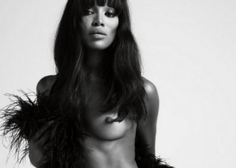 Naomi Campbell: Ποζάρει γυμνή για το περιοδικό Love και ρίχνει το Instagram! | Newsit.gr