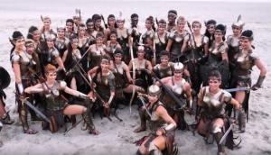 Η γυμναστική που ακολουθούν οι Αμαζόνες της ταινίας Wonder Woman