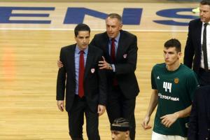 Παναθηναϊκός – Ολυμπιακός: Οργισμένος Σφαιρόπουλος! «Συγχαρητήρια στην ελληνική διαιτησία»