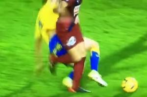 Σοκαριστικός τραυματισμός για παίκτη της Λας Πάλμας [vid]