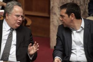 """Στον Τσίπρα ο Κοτζιάς για το Σκοπιανό – """"Μήνυμα"""" ΝΑΤΟ στα Σκόπια"""