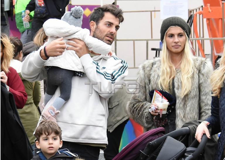 Στέλιος Χανταμπάκης – Όλγα Πηλιάκη: Στιγμές οικογενειακής ευτυχίας με τα παιδιά τους! [pics] | Newsit.gr