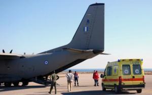 Κρήτη: Aεροδιακομιδή σωτηρίας για βρέφος λίγων ωρών