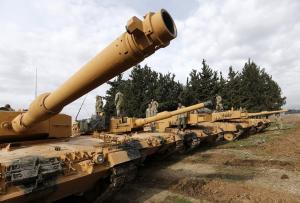 Δεν κάνει πίσω η Τουρκία – Βομβαρδισμοί και… τανκς στην Αφρίν [pics, vids]