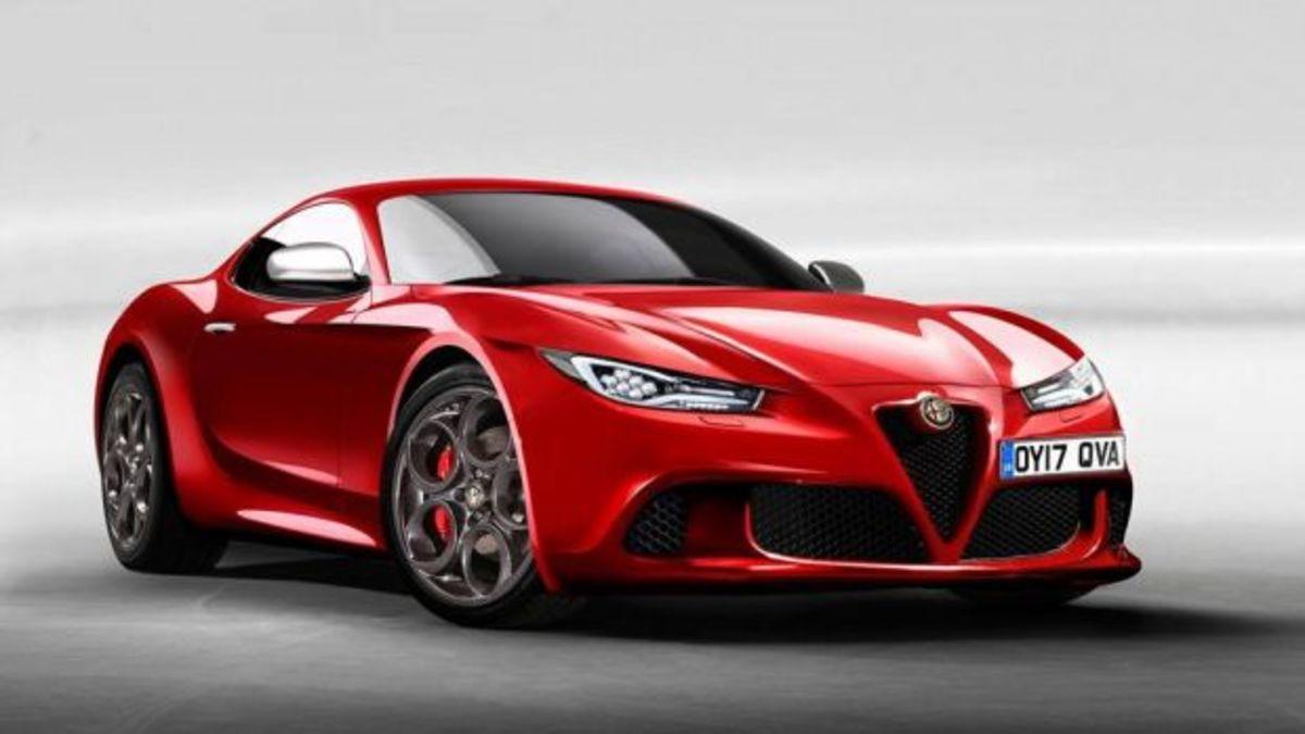 H Alfa Romeo ετοιμάζει την 6C, ένα νέο σπορ κουπέ | Newsit.gr