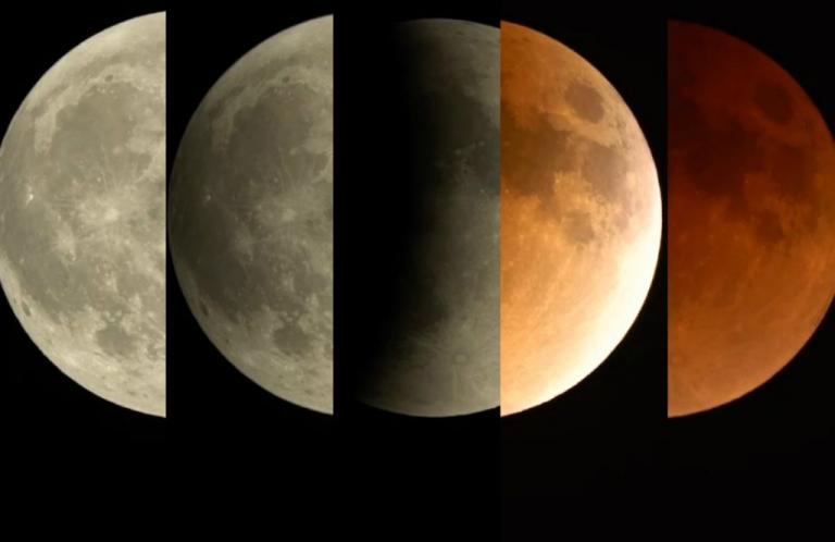 Blue moon: Δέος! Καθήλωσε την υφήλιο το ματωμένο φεγγάρι | Newsit.gr