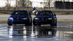 Η νέα BMW M5 κάνει δύο ρεκόρ Guinness ντριφτάροντας [vid]