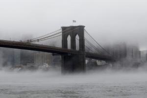 Σαν σκηνή από ταινία! Εντυπωσιακή λήψη της γέφυρας του Μπρούκλυν!