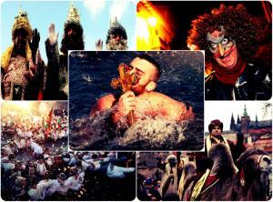 Έτσι γιορτάζει η Ευρώπη τα Φώτα! Βασιλιάδες, παρελάσεις, μάγοι και φωτιές!