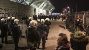 Κούγιας κατά οπαδών και αστυνομίας