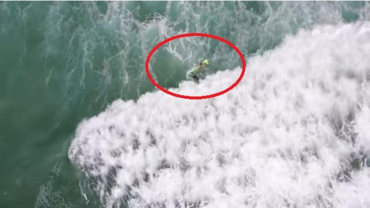 Αποτέλεσμα εικόνας για Η πρώτη διάσωση από drone... ναυαγοσώστη