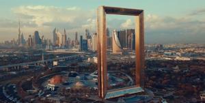 Το Ντουμπάι είναι σαν ζωγραφιά και απέκτησε κορνίζα