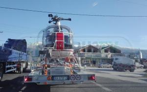 Γιάννενα: Το ελικόπτερο που μαγνήτισε τα βλέμματα σε δρόμο – Οι εικόνες που τράβηξαν οδηγοί [pics]
