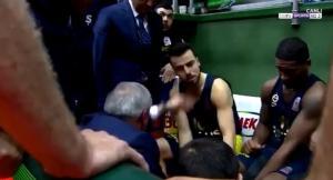 Ομπράντοβιτς: «Ξύπνησε» τον παίκτη του με χαστούκι σε τάιμ άουτ [vid]