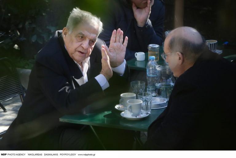 Καφές για δυο – Φλαμπουράρης και Φίλης τα είπαν εκτός γραφείου [pics] | Newsit.gr