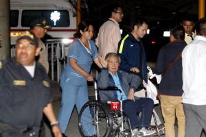 Ξανά στο νοσοκομείο ο Αλμπέρτο Φουχιμόρι