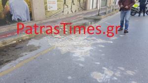 Προβλήματα στην Πάτρα από την κακοκαιρία – Στο νοσοκομείο γυναίκα από πτώση σοβάδων