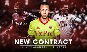 «Ριζώνει» στην Premier League ο Χολέμπας! Μέχρι το 2020 στη Γουότφορντ