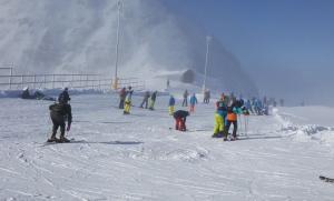 Κατάλευκες εικόνες από το χιονοδρομικό κέντρο Παρνασσού [pics]