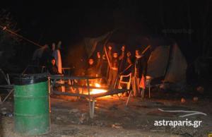 Χίος: Εκτεθειμένοι στο κρύο παραμένουν εκατοντάδες άνθρωποι στη ΒΙΑΛ