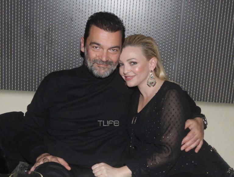 Κωνσταντίνος Καζάκος – Ιωάννα Μαρτζούκου: Ερωτευμένοι σε βραδινή τους έξοδο! [pics] | Newsit.gr