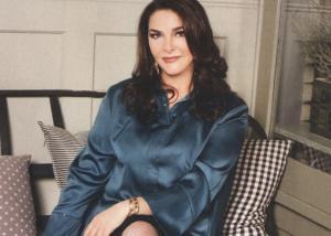 Κατερίνα Κούκα: Σπάνια εμφάνιση στο θέατρο