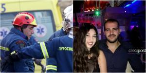 """Κρήτη: """"Λύγισαν"""" οι πυροσβέστες βλέποντας τον Χρήστο και τη Μαίρη να """"σβήνουν"""" στην άσφαλτο"""