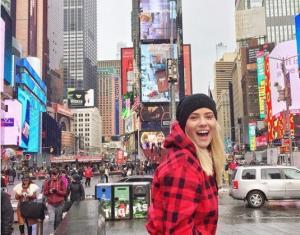 Λάουρα Νάργες: Θυμάται τις καλύτερες στιγμές από τη Νέα Υόρκη! [pics]