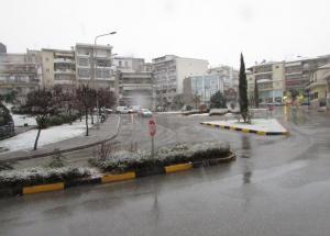 Κοζάνη: Κρύο και χιόνι