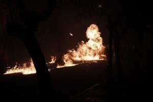 Θεσσαλονίκη: Μολότοφ στο εργοτάξιο του Μετρό – Σοβαρές ζημιές