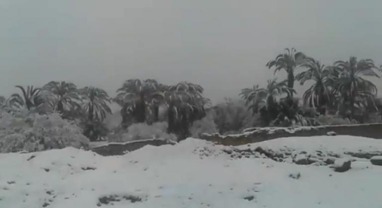 Απίστευτο! Σφοδρές χιονοπτώσεις σαρώνουν το Μαρόκο [vids] | Newsit.gr
