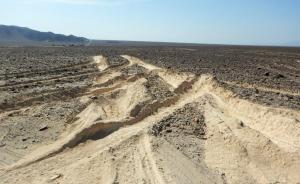 Απίστευτο! Νταλικέρης κατέστρεψε μέρος των γεωγλυφικών στη Νάσκα του Περού