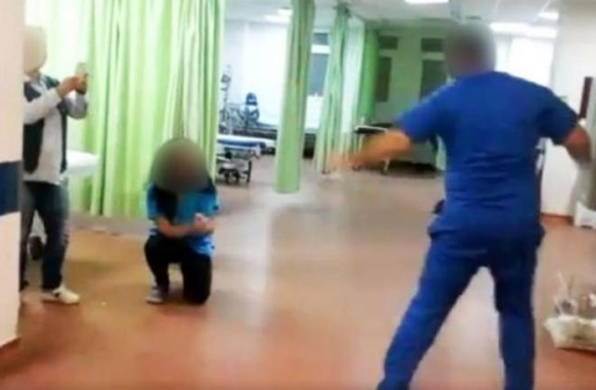 Λέσβος: Αυτό είναι το ζεϊμπέκικο στο νοσοκομείο που προκαλεί αντιδράσεις – Οι επίμαχες εικόνες [pics] | Newsit.gr