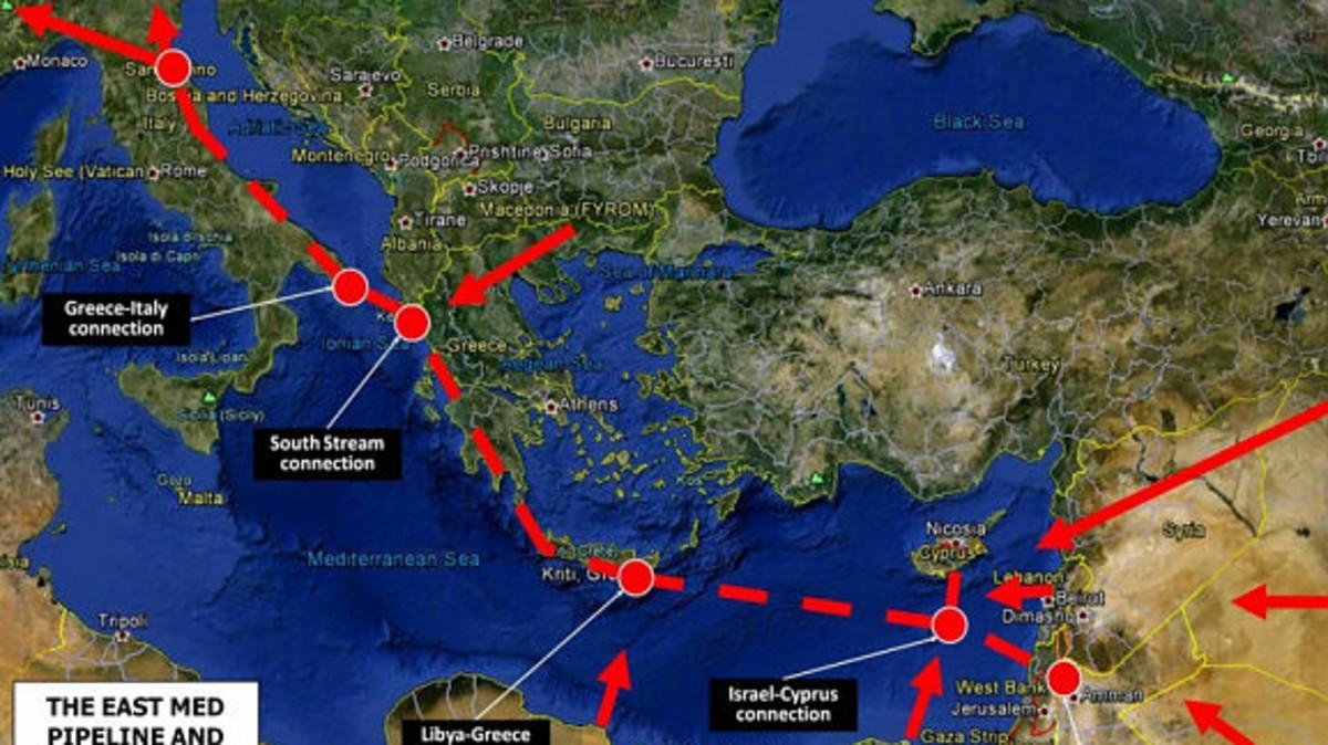 Εισροή €136 εκατ. στην Κύπρο από Ε.Ε. για τον EastMed και υποδομές φυσικού αερίου | Newsit.gr