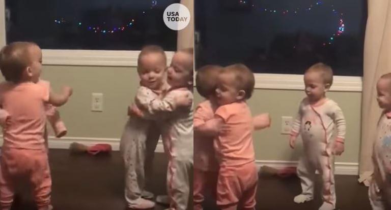 Χαριτωμένα τετράδυμα λατρεύουν να αγκαλιάζονται – Το viral βίντεο με τις εκατομμύρια προβολές | Newsit.gr