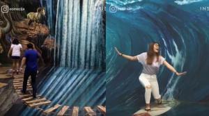 Ένα μουσείο με 3D ζωγραφιές που δημιουργούν απίστευτες οφθαλμαπάτες