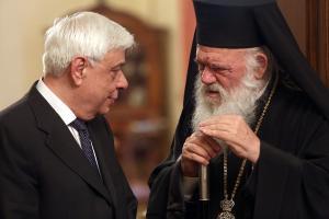 Παράγοντας Ιερώνυμος για το Σκοπιανό! Συνάντηση του Αρχιεπισκόπου με τον Πρόεδρο της Δημοκρατίας