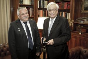 Παυλόπουλος: Υποδέχτηκε τον ομογενή κοσμοναύτη Θεόδωρο Γιουρτσιχίν–Γραμματικόπουλο! [pics]