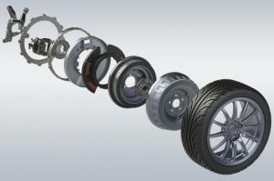 To σύστημα εντός-τροχού ηλεκτροκινητήρα μπαίνει σε παραγωγή [vid]