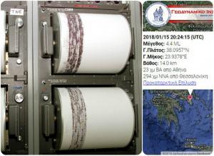 Σεισμός στην Αττική: Προήλθε από τον χώρο που έδωσε το «σμήνος σεισμών»!