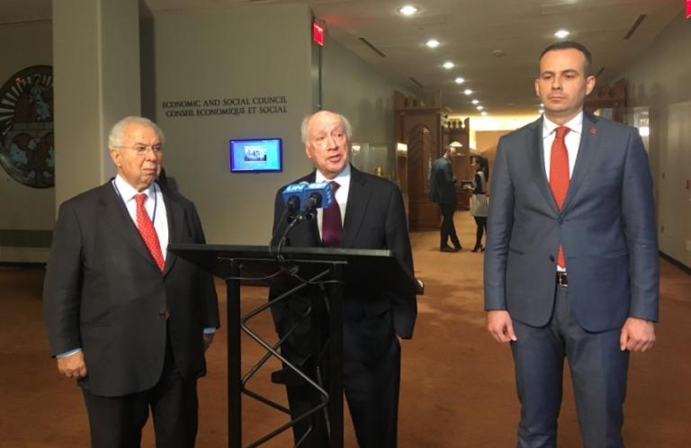 Σκοπιανό: Ολοκληρώθηκε η συνάντηση στα Ηνωμένα Έθνη | Newsit.gr