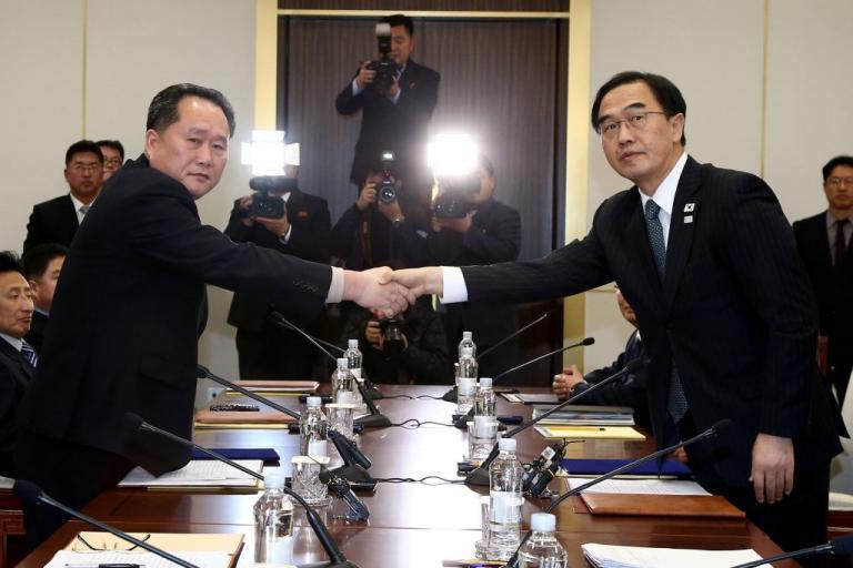 «Συμμαχία» Βόρειας και Νότιας Κορέας για τους Ολυμπιακούς Αγώνες | Newsit.gr
