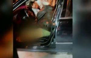 """Ο Βασίλης Στεφανάκος """"γαζωμένος"""" μέσα στο αυτοκίνητο! Σκληρές εικόνες λίγο μετά τη δολοφονία"""